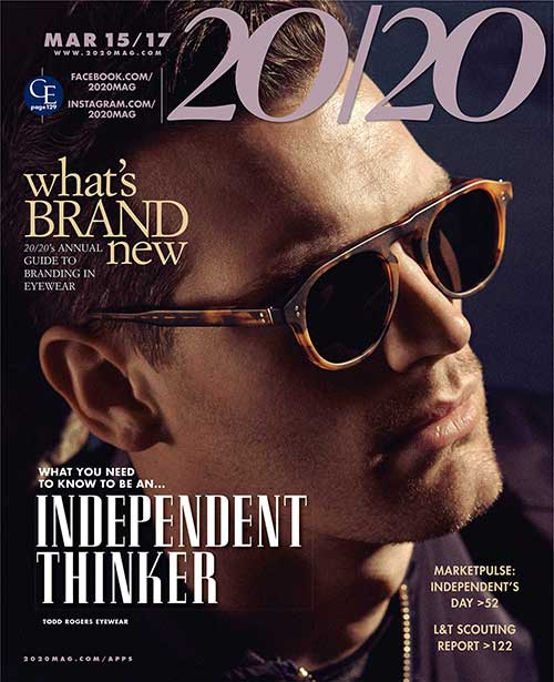 Cover of 20/20 Magazine