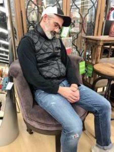 Todd Asleep